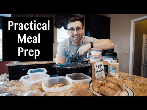 MEAL PREP SUNDAY & MEATLESS MONDAY