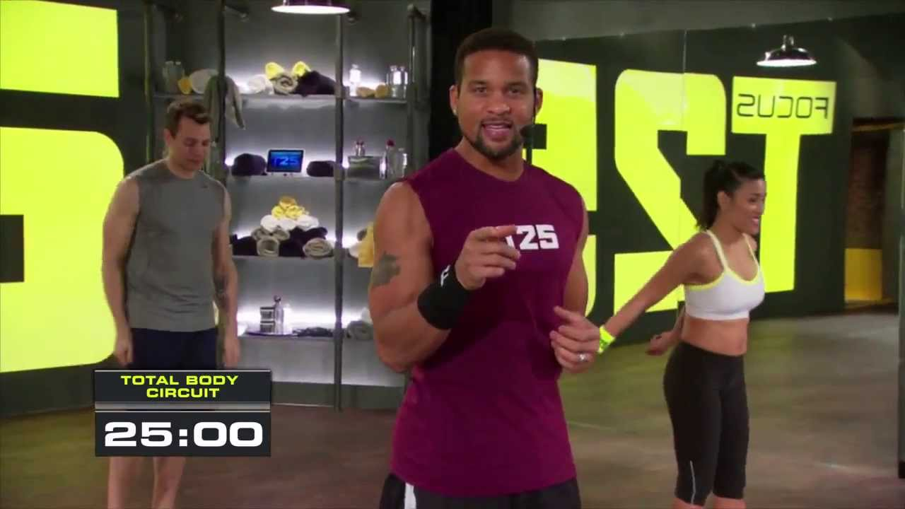 Focus T25 Gamma DVDs Only with Shaun T from Beachbody