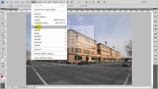 Adobe Photoshop Tutorial: Using the Lens Correction Filter Part 1
