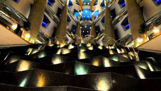 Fountain inside The Burj Al Arab