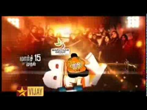Olli Belly Vijay TV Reality Show - Sparrc Institute Official Fitness Partner