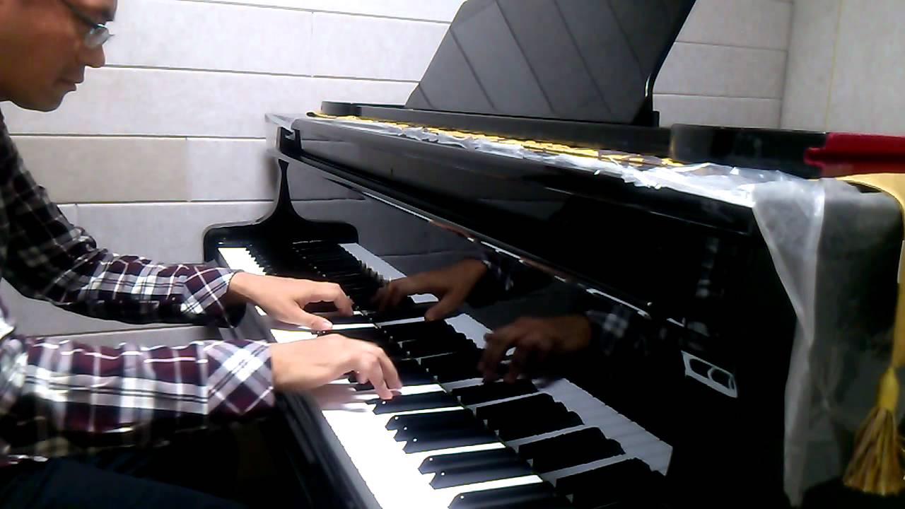 how to play you never let go on piano