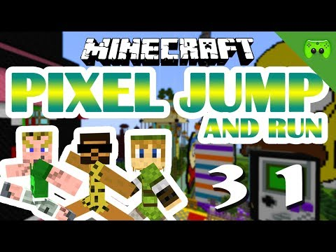 MINECRAFT Adventure Map # 31 - Pixel Jump & Run «» Let's Play Minecraft Together | HD