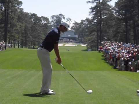 Dustin Johnson Driver Golf Swing Slow Motion Masters
