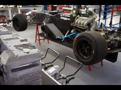 Renault Sport competition vehicles: making of in Dieppe
