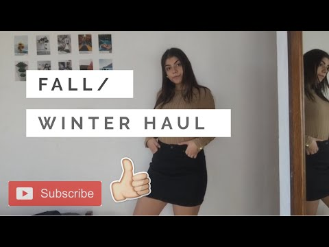 SMALL WINTER/FALL HAUL | It's Savvina