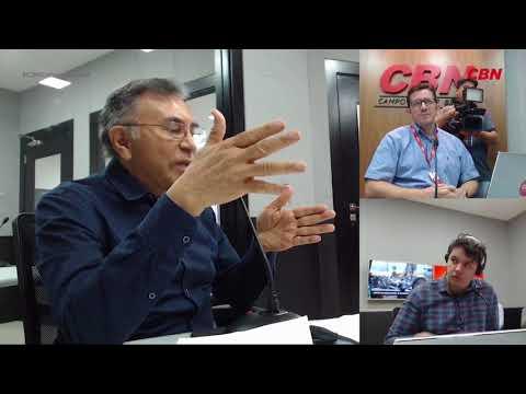 Entrevista CBN Campo Grande: Odilon de Oliveira