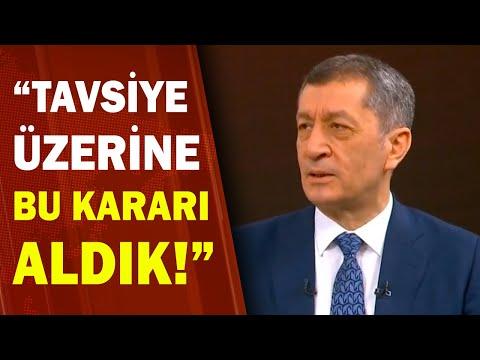 Milli Eğitim Bakanı Ziya Selçuk'tan Sınavlarla İlgili Açıklama! / A Haber