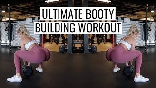 DUMBBELL BOOTY BUILDING LEG WORKOUT