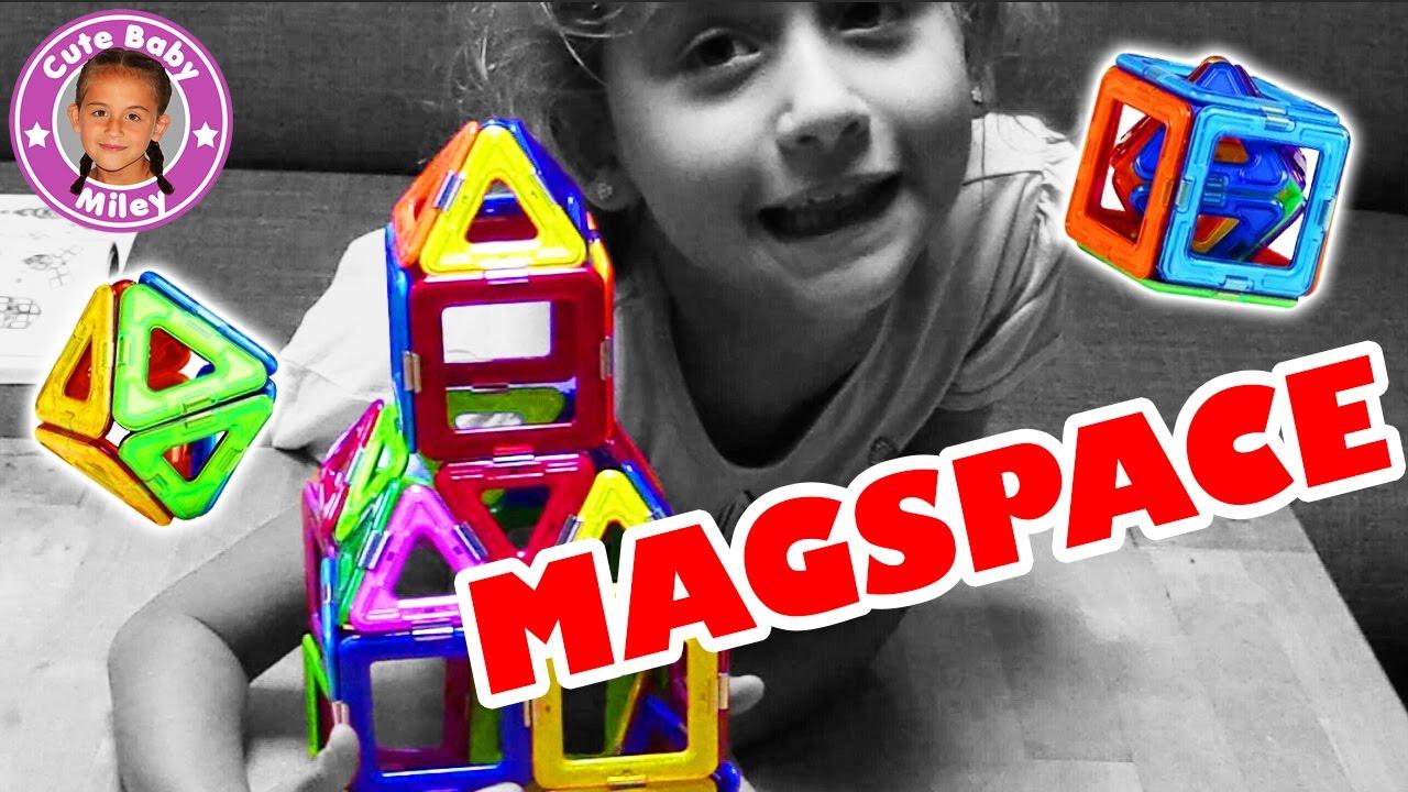 Magspace Magnet Spielzeug Experimentierspaß Und Kreavitität Für