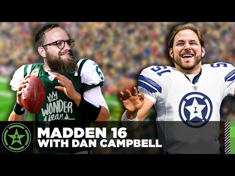 Let's Play - Madden 16 with Dan Campbell of The Wonder Years
