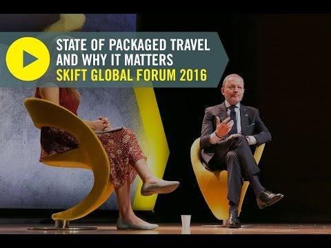 The Travel Corporation CEO Brett Tollman at Skift Global Forum 2016