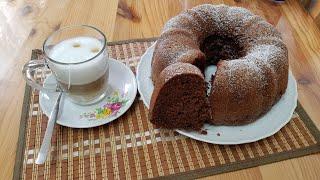 Очень вкусный, мягкий, пышный, мега ШОКОЛАДНЫЙ КЕКС/ Schokoladen-Gugelhupf/ Немного красоты 🌺