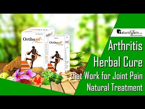Natural Arthritis Pain Relief Treatment Herbal Joint Inflammation Cure