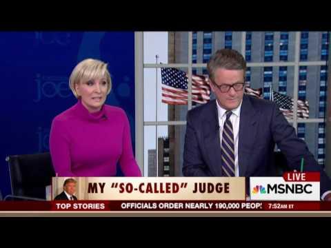 Senator King on MSNBC