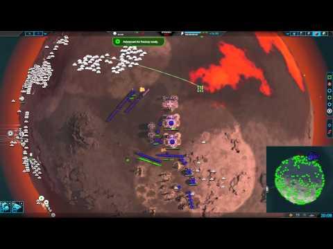 Planetary Annihilation 5v5 Team Game  -  Ants and Teamwork
