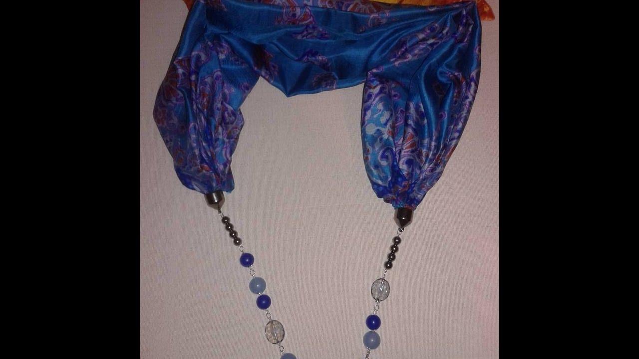 metà fuori 16e6a 26313 come si fa una sciarpa gioiello!?!?!? How do you make a jewel scarf?!?!?
