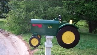 Building My Tractor Mailbox Part 2