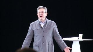 Frankreich-Wahl: Hologramm-Auftritt von Linkspopulist Mélenchon