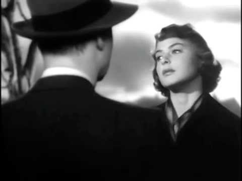 with Ingrid Bergman and Charles Boyer  Arch of Triumph