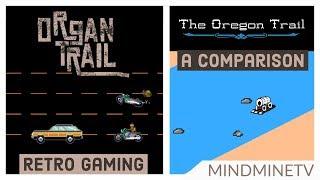 RETRO GAMING   Organ Trail & The Oregon Trail - A Comparison   MindMineTV