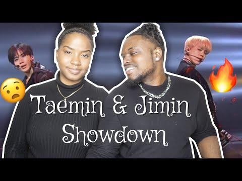 TAEMIN (SHINee) & JIMIN (BTS) SHOWDOWN (2016 KBS SONG FESTIVAL) REACTION| CHRISTINA &ED