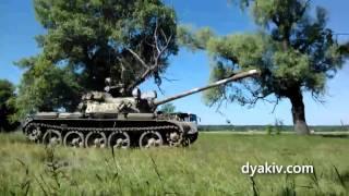 Танк Т-54 (съёмка сериала