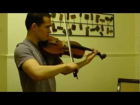 Telemann Viola Concerto in G Major, 2nd Mvt, Allegro