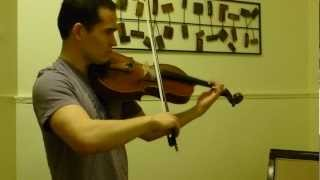 Telemann Viola Concerto in G Major, 2nd Mvt, Allegro