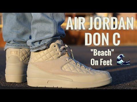 Air Jordan Just Don 2 Beach Review & On Foot