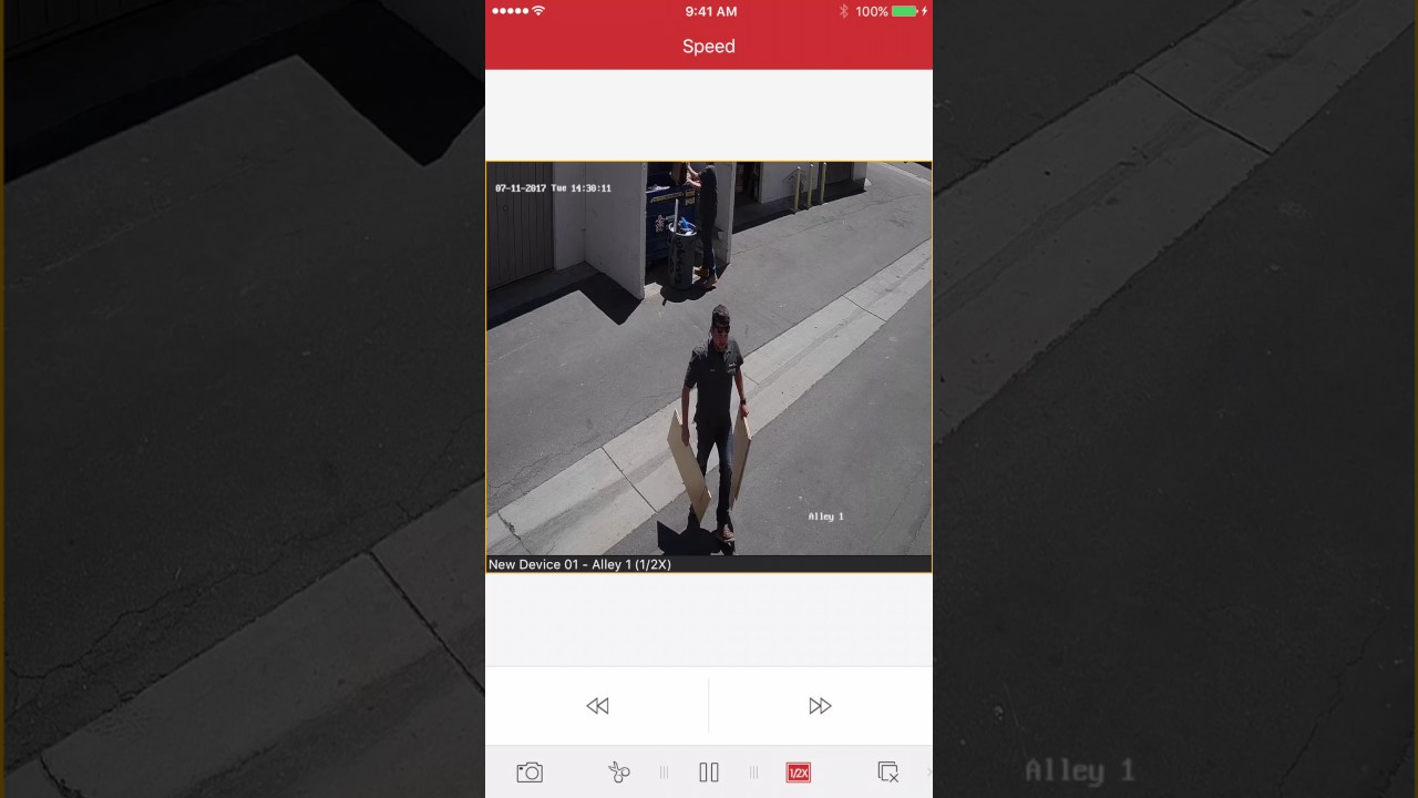 Mobile Playback for IVMS 4500 Hikvision Mobile Application