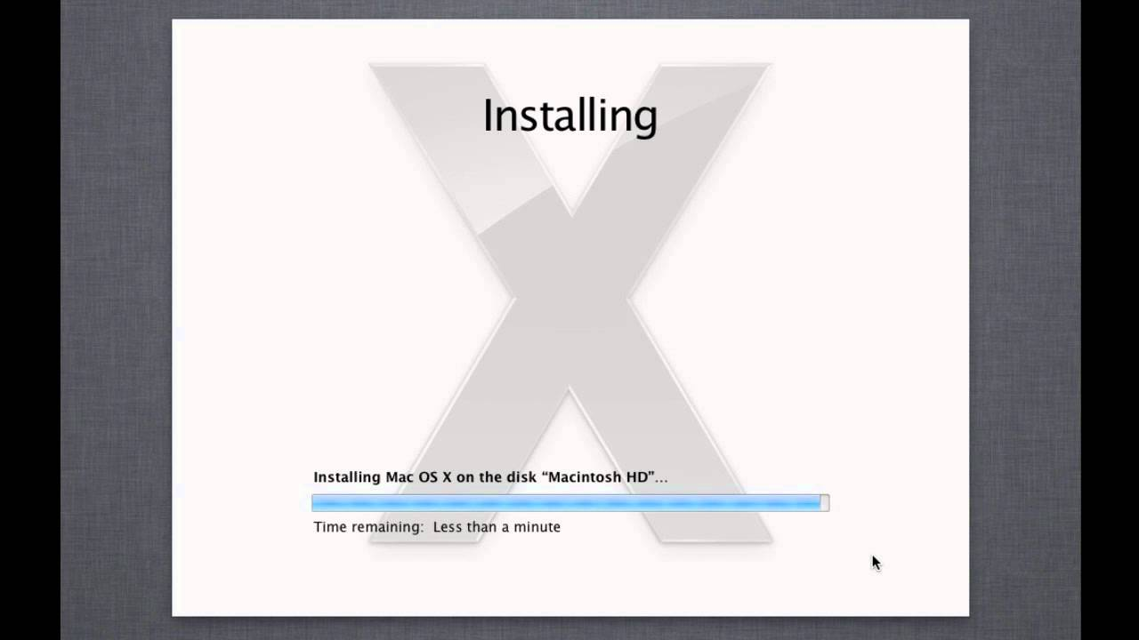 How To Install Mac OS X Lion Without Existing Mac OS X ...