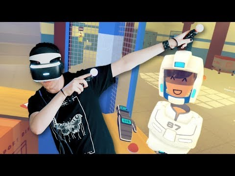 VR CHATTING ON PS4! |Rec Room PSVR