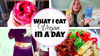 What I eat in a day #VEGAN