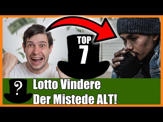 TOP 7 Lotto Vindere Der Mistede ALT!
