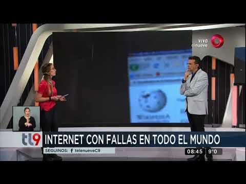 Internet con fallas en todo el mundo