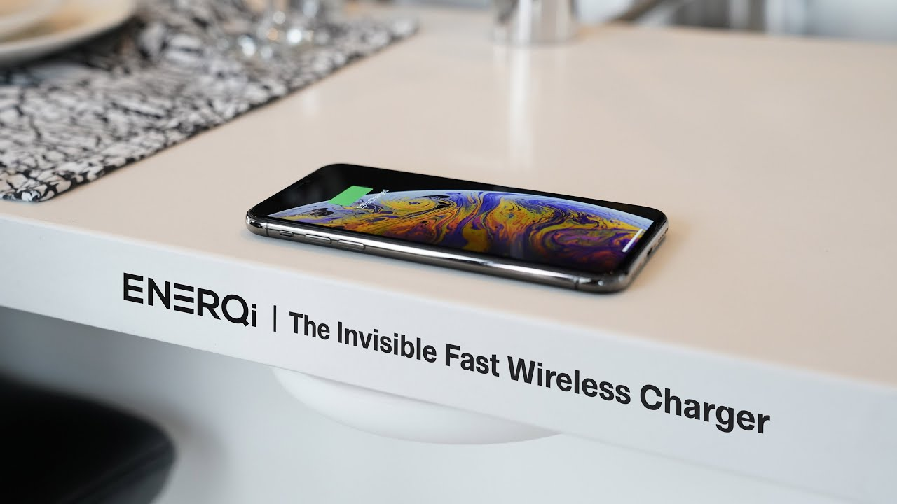 The Invisible Fast Wireless Charger