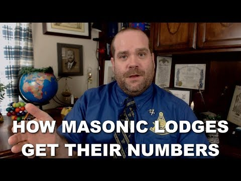 How Masonic Lodges Get Their Numbers