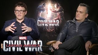 Anthony And Joe Russo On Marvel's Captain America: Civil War
