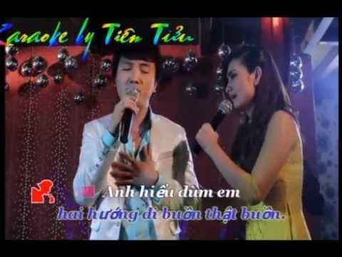 duong tinh doi nga karaoke giong nu bl