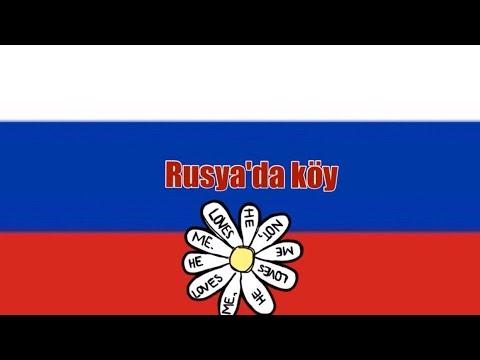 Rusya'da Köy / Köy / Rusya / Rusya'da Yaşam / Rusya Hakkında Blog / Rusya'da