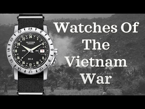 Watches Of The Vietnam War | Watches Used In The Military