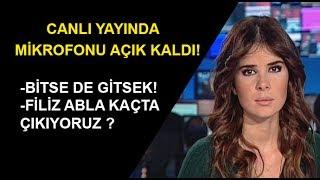 NTV Spor Sunucusu Tuğba Dural'ın Mikrofonu Açık Kaldı! | Bitse de gitsek