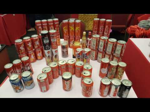 Coca Cola Collector Fair 2017 Malaysia Berjaya Times Square