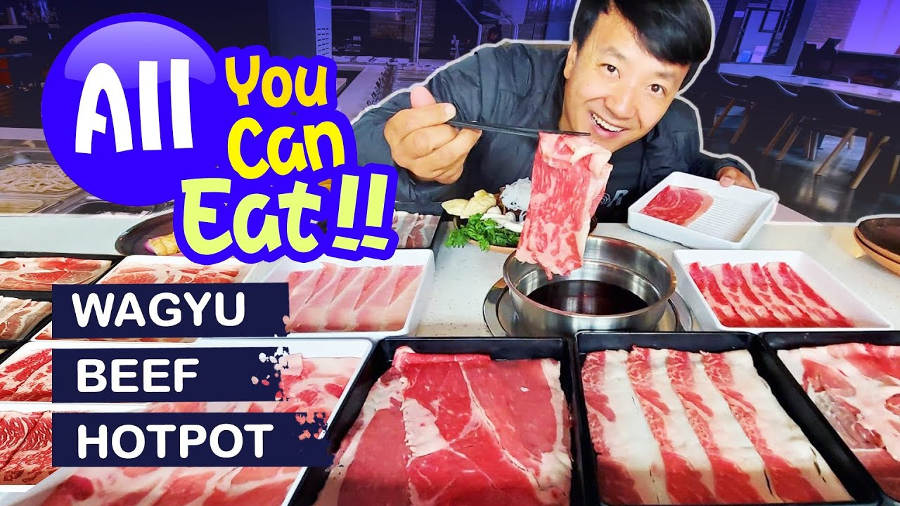 Download All You Can Eat WAGYU BEEF HOTPOT Shabu BUFFET & WONTON NOODLES in Seattle