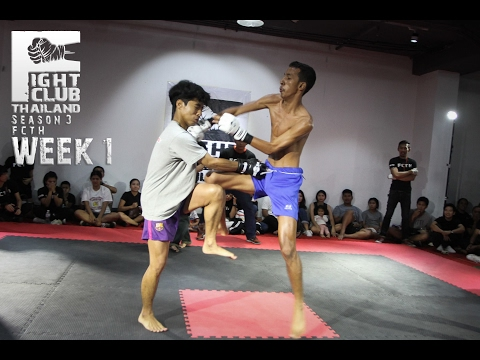 Fight Club Thailand SS3 W1 2017 Kritsada x Kao 999 1