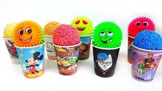 Kleuren voor kinderen om te leren spelen Schuimballen Verras speelgoed