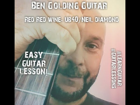 Red Red Wine Easy Guitar Lesson