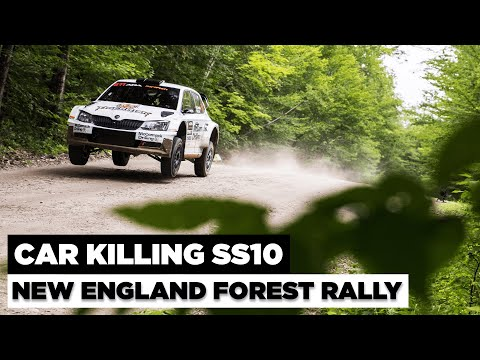 New England Forest Rally 2021 - Brutal Stage 10