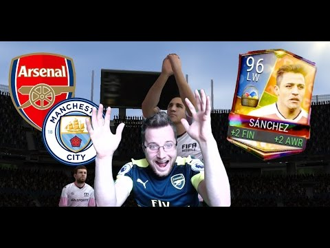 We Predicted the Arsenal Man City Match! Plus FIFA Mobile Easter Alexis Sánchez Gameplay!